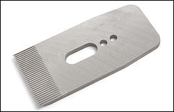 Toothed blade 57 mm (2-1/4 inch) for Veritas bevel-up planes
