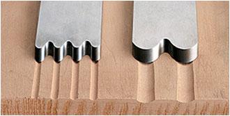 Kannelier-Eisen für VERITAS-Schrupphobel