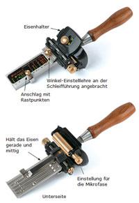 Veritas MK.II Schleifführung für schmale Eisen