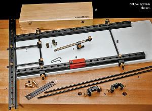 VERITAS Lochreihenschablone System 32 Deluxe