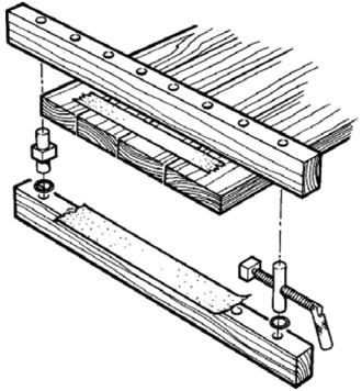 VERITAS Panel Clamp