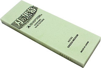 Shapton 2000 sharpening stone (green)