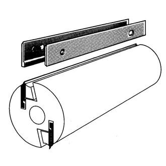 Einweg-Hobelmesser-System von Brück