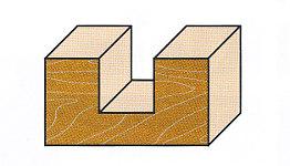 Wendeplatten-Nutfräser
