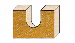 Wendeplatten-Hohlkehlfräser