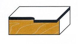 Wendeplatten-Bündigfräser