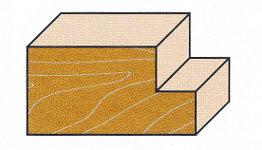 Wendeplatten-Falzfräser