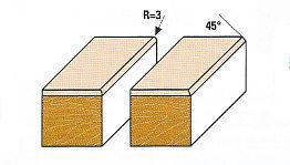 Wendeplatten-Fasefräser