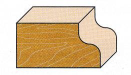 Wendeplatten-Karnies-Profilfräser