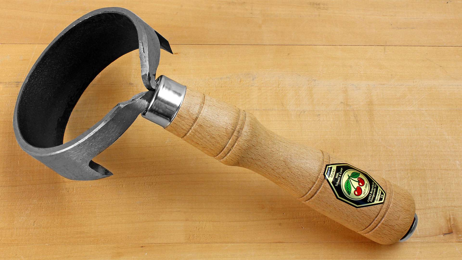 Barrel Draw Knife closed